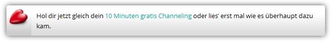 Gratis-Sitzung - Channeling Medium Marina Daschner